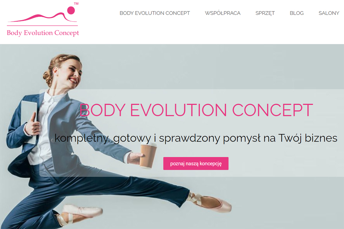 dobra agencja marketingowa body evolution concept