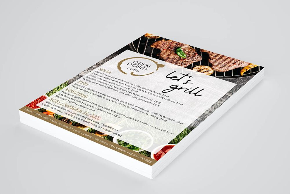 dobra agencja marketingowa menu grill
