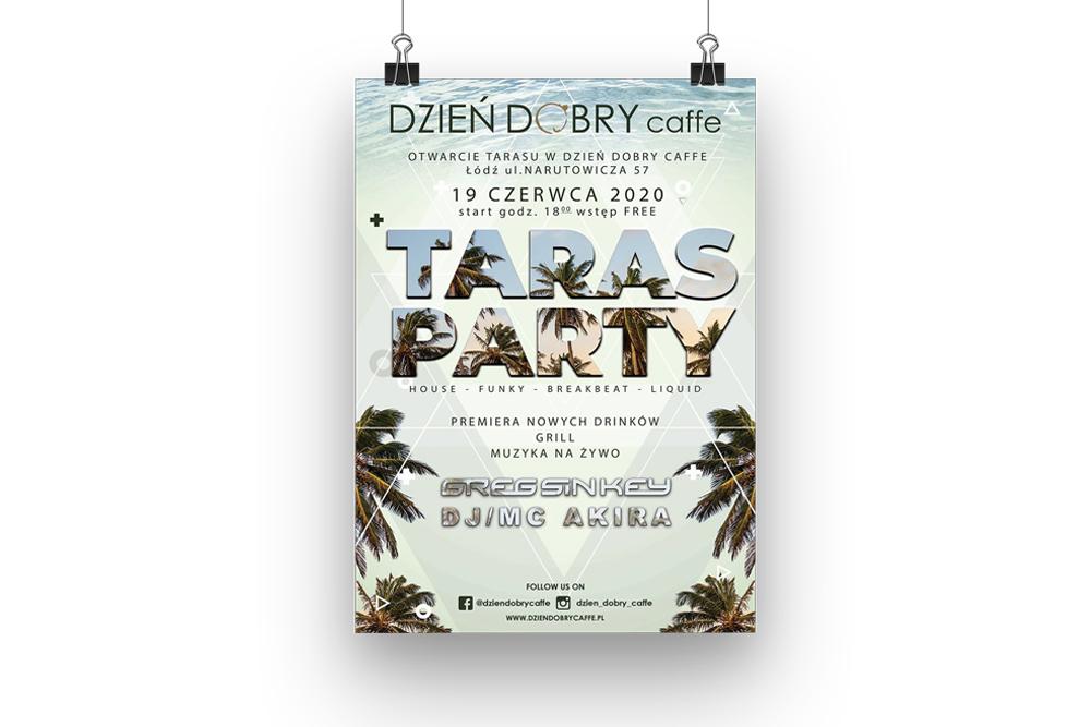 dobra agencja marketingowa taras party dzien dobry caffee